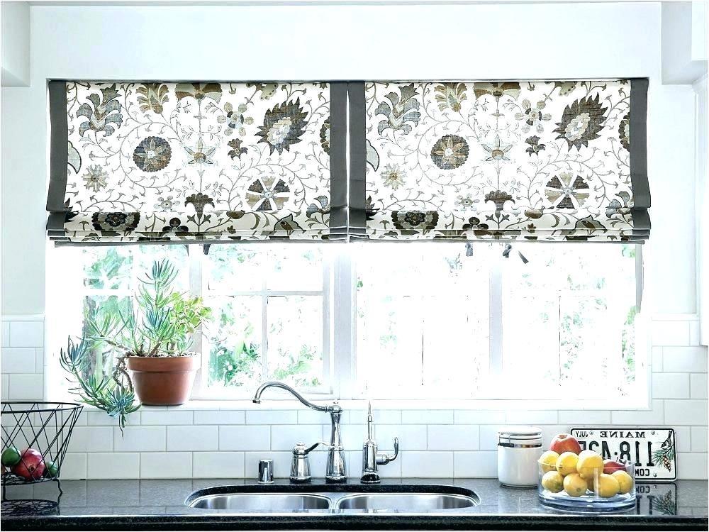 Contemporary Kitchen Curtains Window Treatments Cafe Modern Intended For Farmhouse Kitchen Curtains (View 6 of 50)