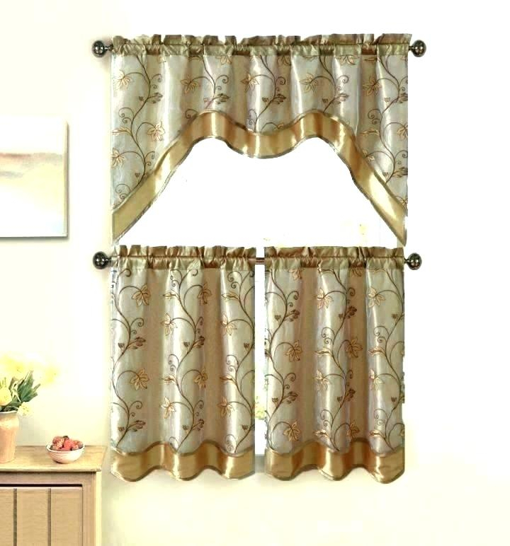 Cottage Kitchen Curtains – Skushi For Chateau Wines Cottage Kitchen Curtain Tier And Valance Sets (View 10 of 30)