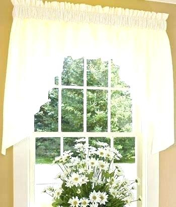 Country Curtains Lace Valance – Socialwear For Country Style Curtain Parts With White Daisy Lace Accent (View 5 of 50)