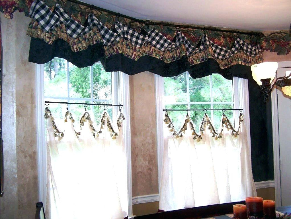 Country Curtains Lace Valance – Socialwear Regarding French Vanilla Country Style Curtain Parts With White Daisy Lace Accent (View 8 of 50)