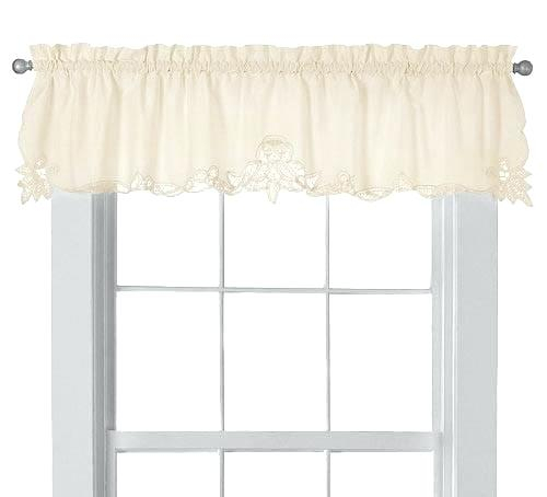 Country Curtains Lace Valance – Socialwear Within Country Style Curtain Parts With White Daisy Lace Accent (View 16 of 50)