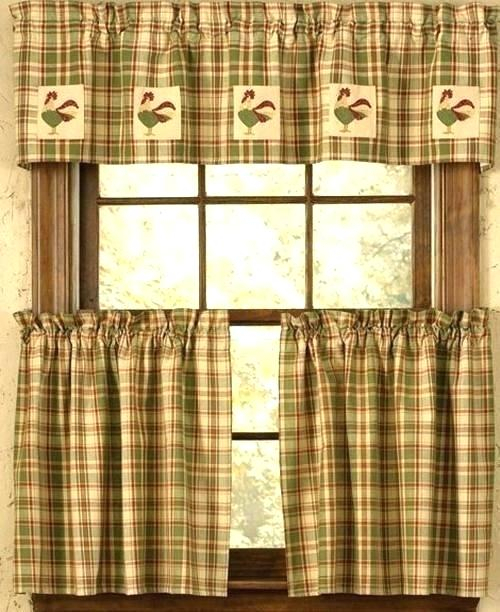 Country Kitchen Curtains Primitive – Hephaestus (#10 of 30)