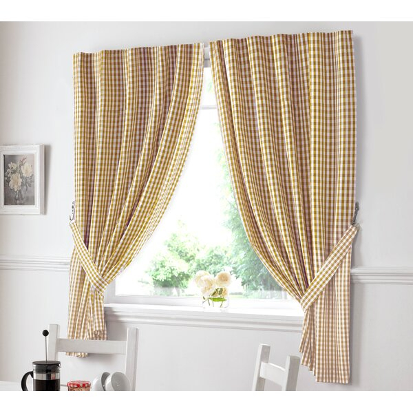 Country Kitchen Curtains   Wayfair.co (View 5 of 30)