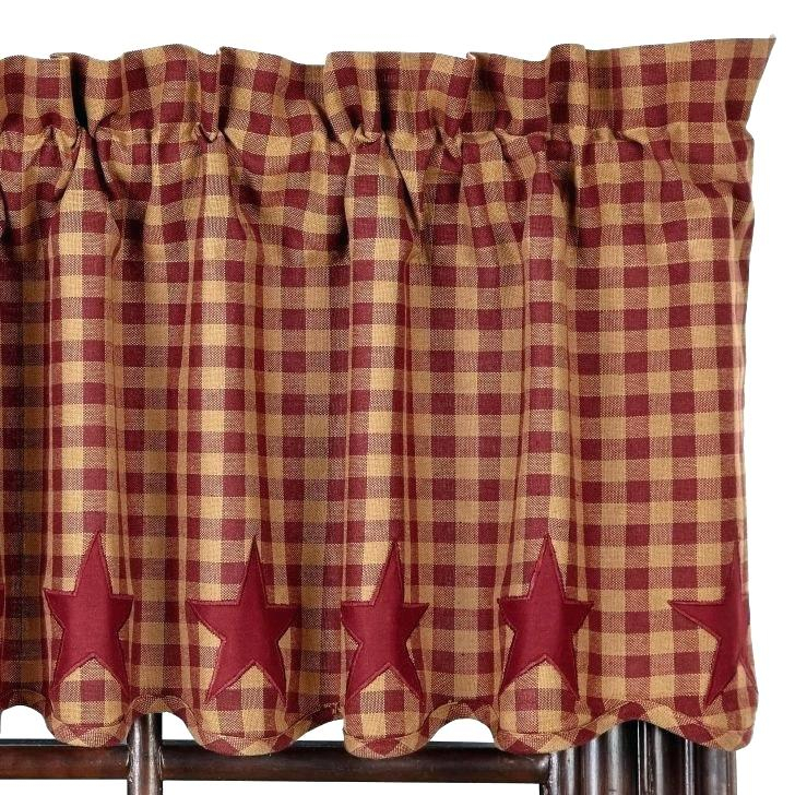Country Style Valances – Lilianamejia Throughout Country Style Curtain Parts With White Daisy Lace Accent (View 20 of 50)