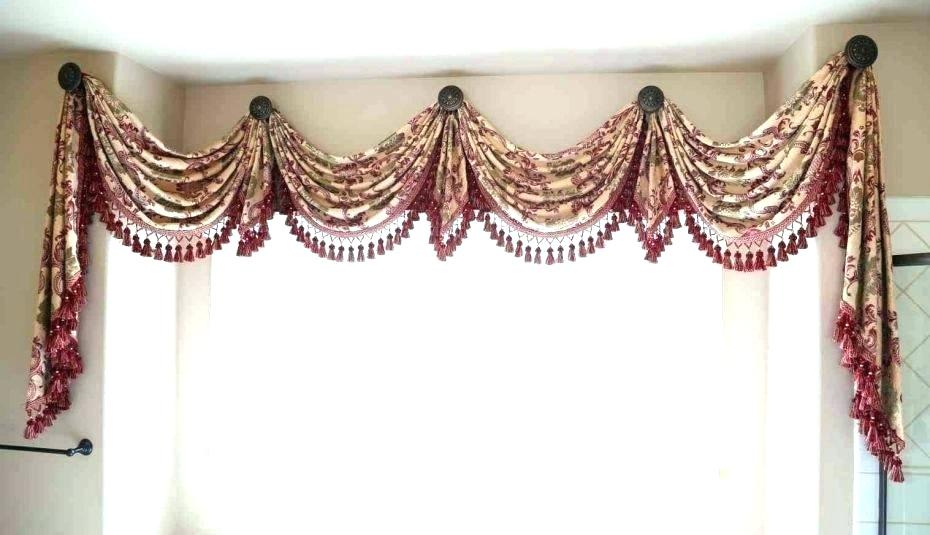 Country Valances Curtains Sale For Windows – Pettahtailors Within Medallion Window Curtain Valances (#12 of 48)