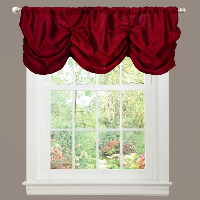"Craner Light Filtering 42"" Curtain Valance In Luxury Light Filtering Straight Curtain Valances (View 33 of 47)"