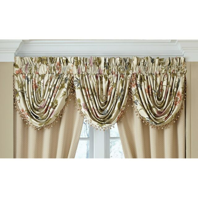 Croscill Daphne Waterfall Swag Window Valance  (#12 of 46)