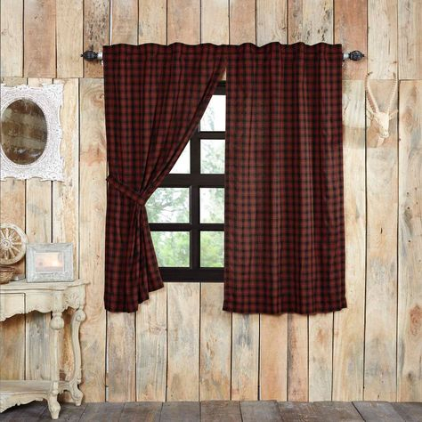 Cumberland Lined Short Panel Curtains 63"