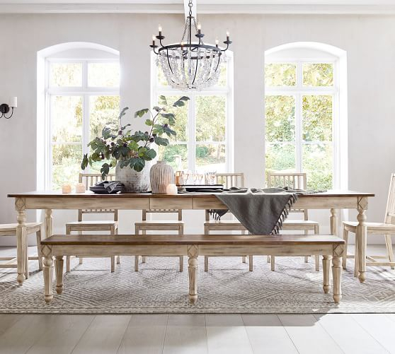 Current 15 Best Pottery Barn Dining Tables On Sale! (#8 of 30)