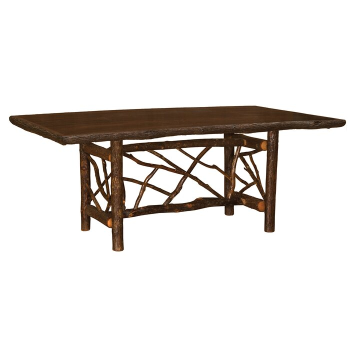 Current Cleary Twig Log Dining Table Intended For Cleary Oval Dining Pedestal Tables (#6 of 20)