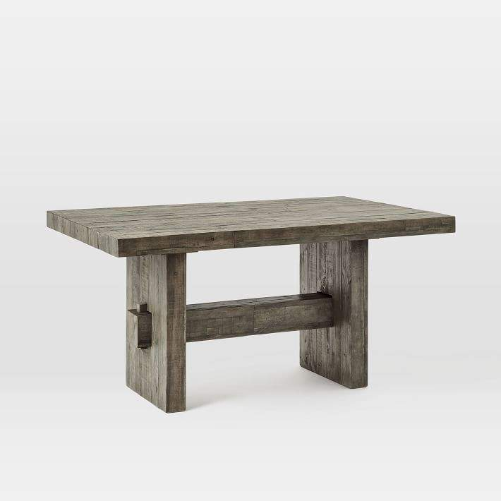 Current Reclaimed Dining Table – Shopstyle Within Brussels Reclaimed European Barnwood Dining Tables (#8 of 20)