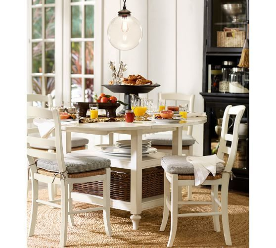 Current Shayne Drop Leaf Kitchen Table, Antique White (View 10 of 20)