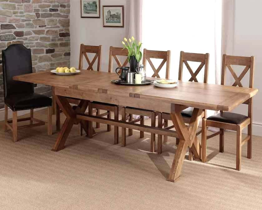 Current X Leg Dining Table – Litology (#4 of 30)