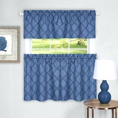 Curtain And Valance Set Intended For Grey Window Curtain Tier And Valance Sets (View 8 of 50)
