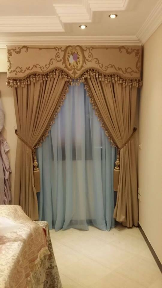 Curtain Handmade Valance Panel Tie Side Tassel Fringe Decor Home Window  Door | Ebay In Spring Daisy Tiered Curtain 3 Piece Sets (View 10 of 30)
