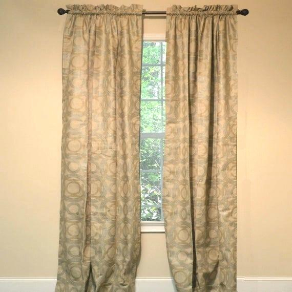 Curtain Medallions – Topcat (View 18 of 48)