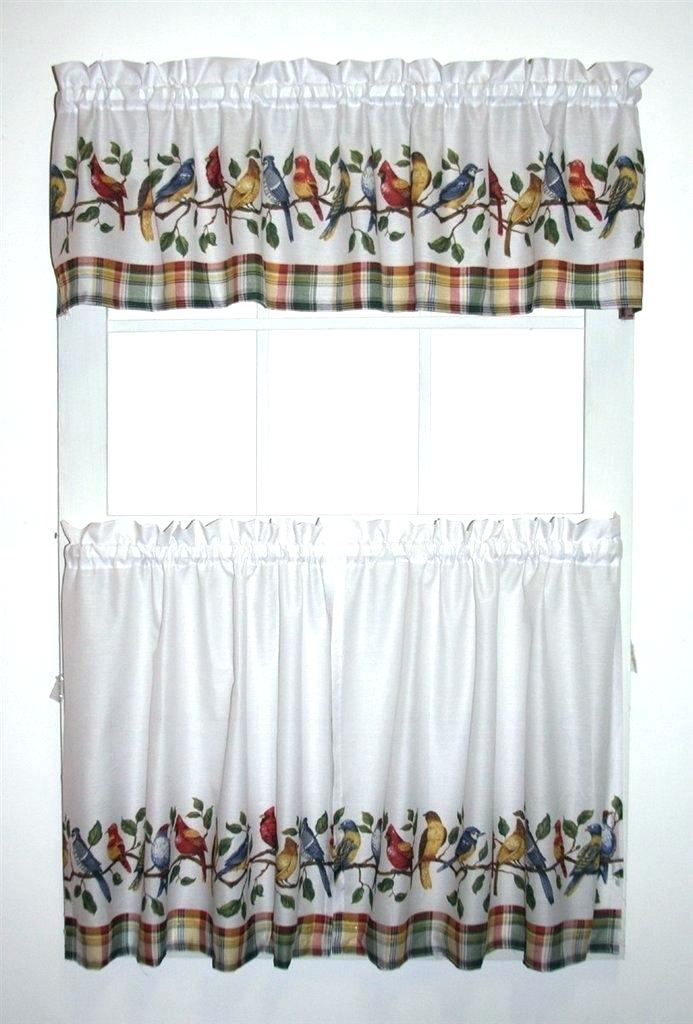 Curtain Sets With Valance – Mnkskin Inside Imperial Flower Jacquard Tier And Valance Kitchen Curtain Sets (View 4 of 46)