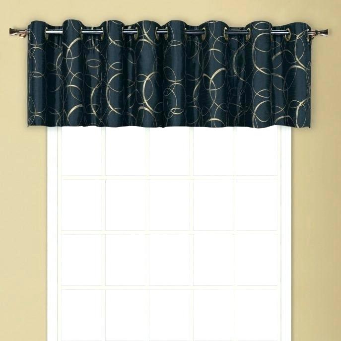 Curtain Sets With Valance – Onsaturn (#14 of 50)