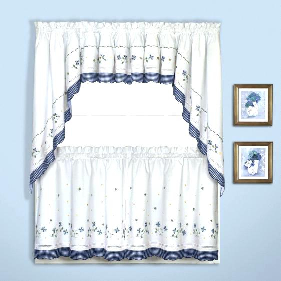 Curtain Tier – Divethrill Pertaining To Kitchen Curtain Tiers (View 32 of 50)