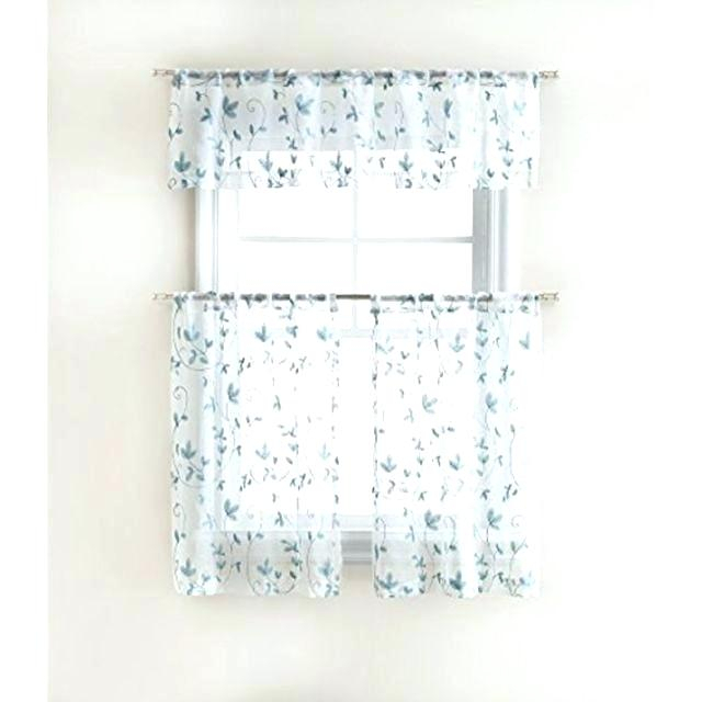 Curtain Tiers And Valances – Europeanschool In Floral Embroidered Sheer Kitchen Curtain Tiers, Swags And Valances (View 9 of 50)