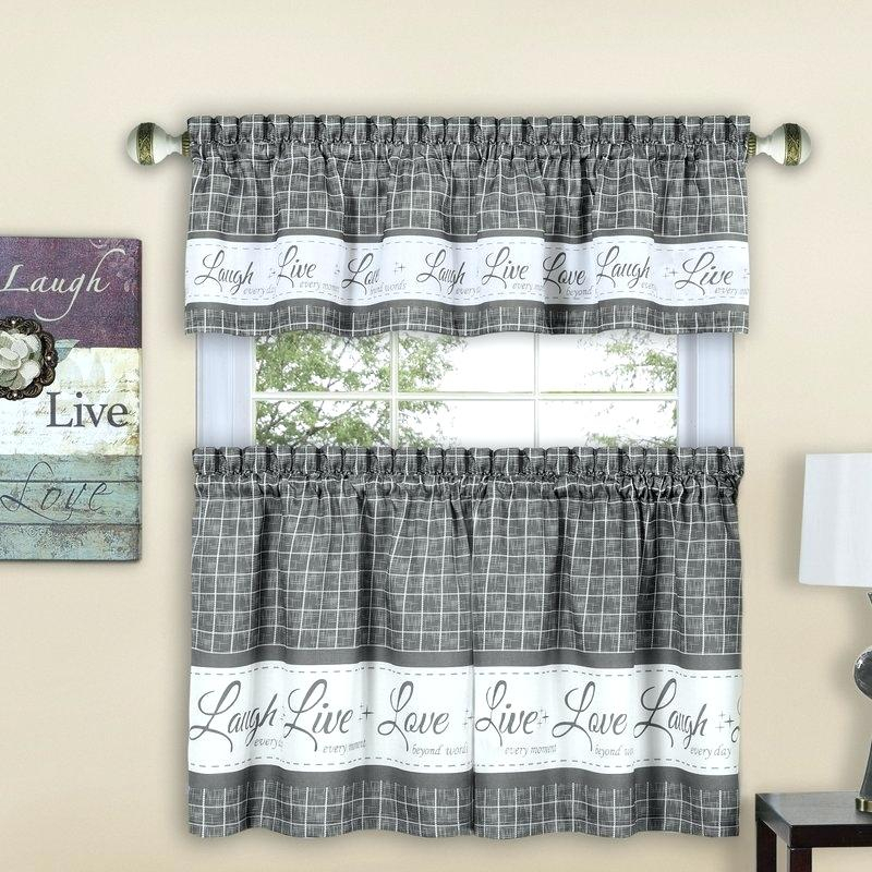 Curtain Tiers And Valances – Europeanschool In Grey Window Curtain Tier And Valance Sets (View 15 of 50)