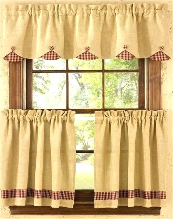 Curtain Tiers And Valances – Europeanschool Inside Sunflower Cottage Kitchen Curtain Tier And Valance Sets (#19 of 50)