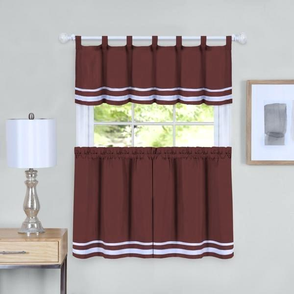 Curtain Tiers And Valances – Europeanschool Inside Sunflower Cottage Kitchen Curtain Tier And Valance Sets (#18 of 50)