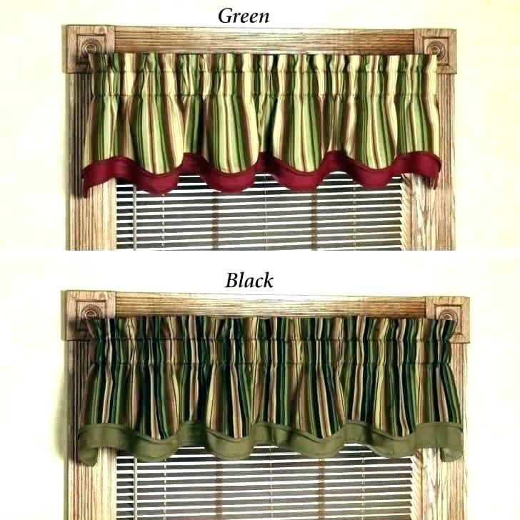 Curtain Tiers And Valances – Europeanschool Intended For Sunflower Cottage Kitchen Curtain Tier And Valance Sets (#20 of 50)