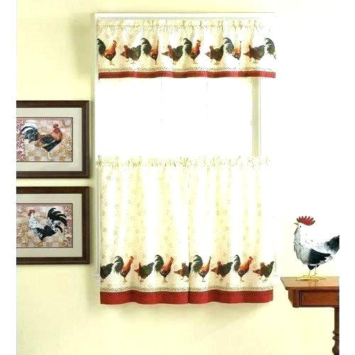 Curtain Tiers And Valances – Europeanschool With Floral Lace Rod Pocket Kitchen Curtain Valance And Tiers Sets (View 10 of 50)