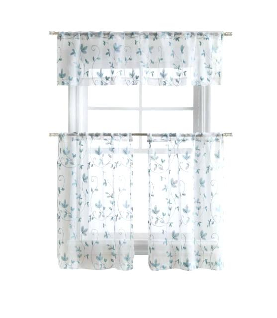 Curtain Tiers And Valances – Europeanschool With Regard To Floral Embroidered Sheer Kitchen Curtain Tiers, Swags And Valances (View 13 of 50)