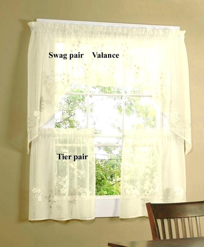 Curtain Tiers And Valances – Europeanschool Within Floral Embroidered Sheer Kitchen Curtain Tiers, Swags And Valances (View 15 of 50)