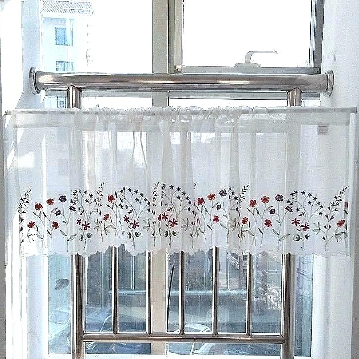 Curtain Tiers – Churubuscochamber Inside Luxurious Kitchen Curtains Tiers, Shade Or Valances (#7 of 50)