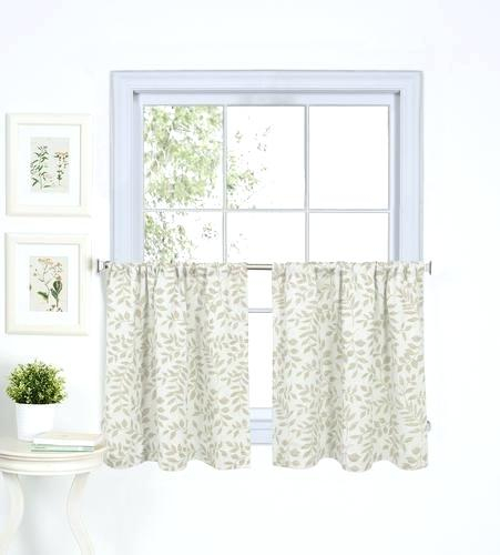 Curtain Tiers – Churubuscochamber Intended For Semi Sheer Rod Pocket Kitchen Curtain Valance And Tiers Sets (View 34 of 50)