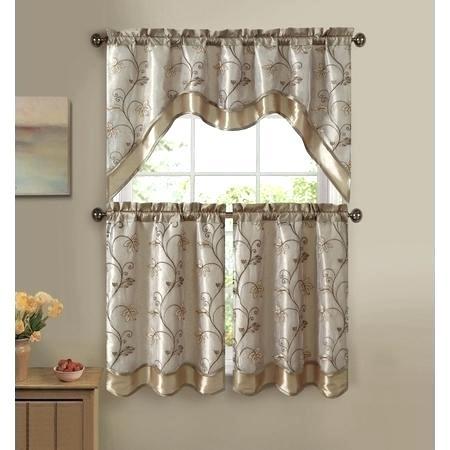 Curtain Tiers – Churubuscochamber Regarding White Knit Lace Bird Motif Window Curtain Tiers (View 9 of 50)
