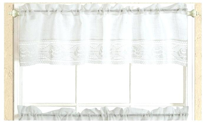 Curtain Tiers – Churubuscochamber Within White Knit Lace Bird Motif Window Curtain Tiers (View 11 of 50)