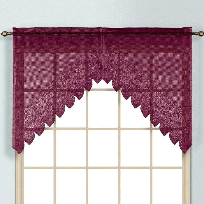 Curtain Valance Set – Birdclan (View 13 of 50)