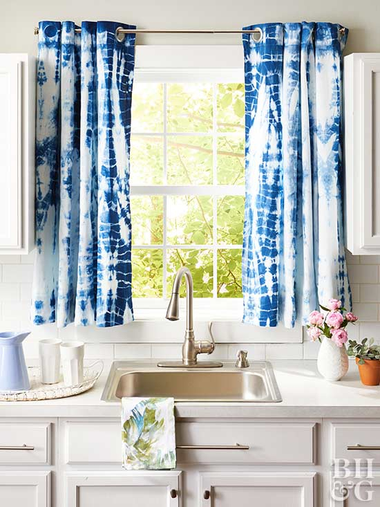 Curtains For Kitchen Window – Phandong With Pintuck Kitchen Window Tiers (#9 of 43)