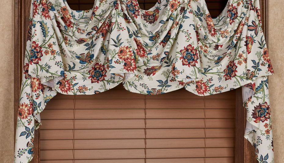 Curtains Scoop Valances Curtain Room Valance Inspiring Inside Floral Pattern Window Valances (View 8 of 50)