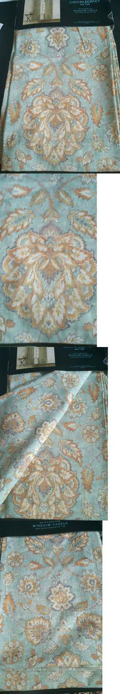 Cynthia Rowley Window Curtains Drapes And Valances Pair Of Regarding Rowley Birds Valances (#10 of 50)