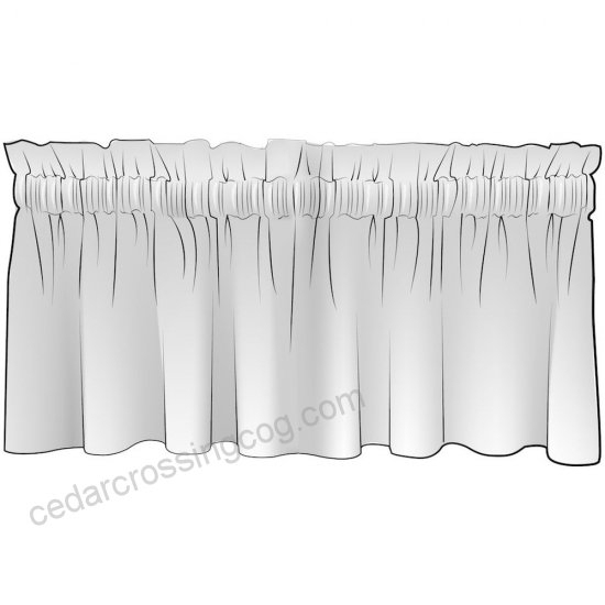 Inspiration about Dakota Creek Aqua Woven Stripe Tailored Valance Lined Cotton With Dakota Window Curtain Tier Pair And Valance Sets (#15 of 30)