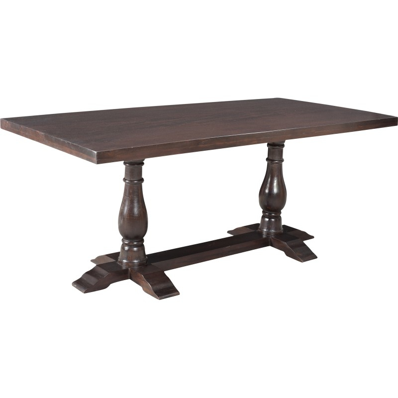 "Inspiration about Dawson Pedestal Dining Tables For Favorite Walton Pedestal Dining Table 72""  Brown (#15 of 20)"