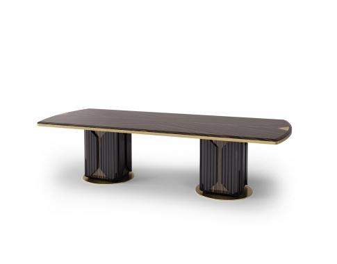 Dawson Pedestal Tables Pertaining To Most Popular Bianchini – Italian Art Design (#5 of 20)