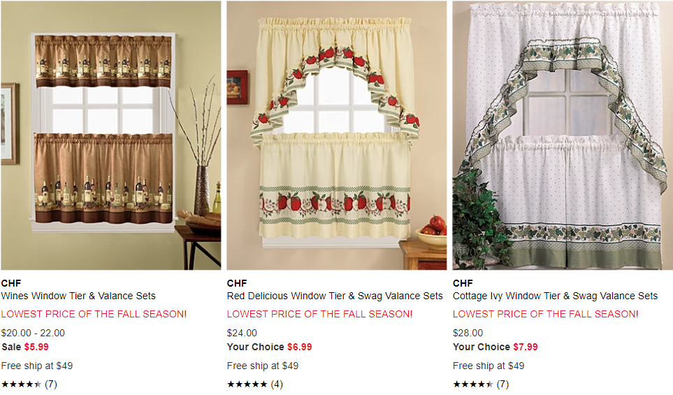 Deals Finders | Macy's : Kitchen Curtain Set Just From $ (#22 of 49)