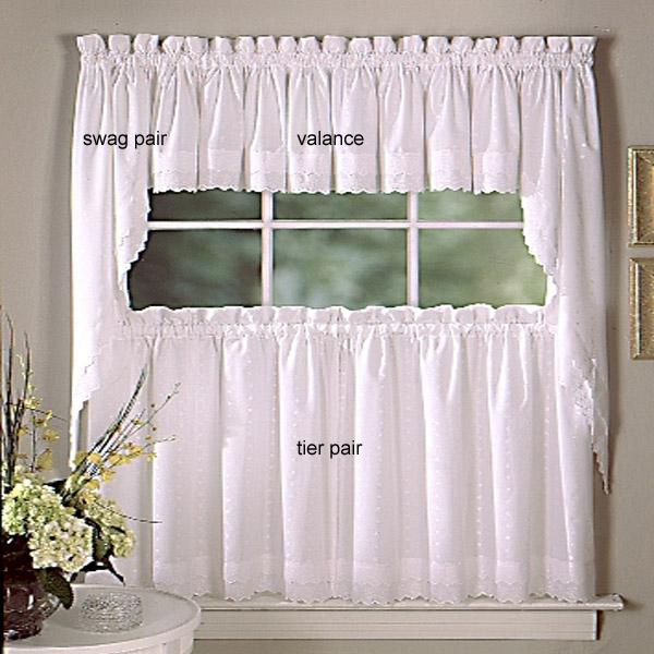 Inspiration about Designer Kitchen Curtains – Thecurtainshop Throughout Twill 3 Piece Kitchen Curtain Tier Sets (#28 of 42)