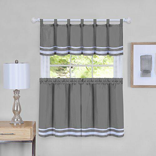 Popular Photo of Dakota Window Curtain Tier Pair And Valance Sets