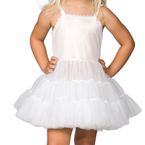 Inspiration about Details About Girls White Bouffant Full Slip Petticoat – Extra Full, (2T – 14) Intended For White Ruffled Sheer Petticoat Tier Pairs (#8 of 30)