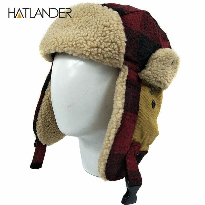 Details Zu Outdoor Earflap Bomber Hats For Men Women Thick Russian Ushanka  Winter Hats Cute With Porch & Den Park Point Blush 24 Inch Tier Pairs (#3 of 30)