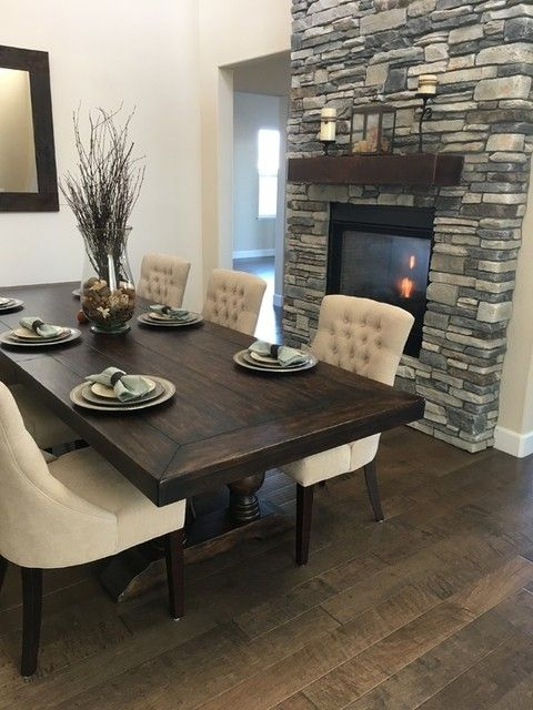 Inspiration about Dining Regarding Hewn Oak Lorraine Extending Dining Tables (#9 of 30)