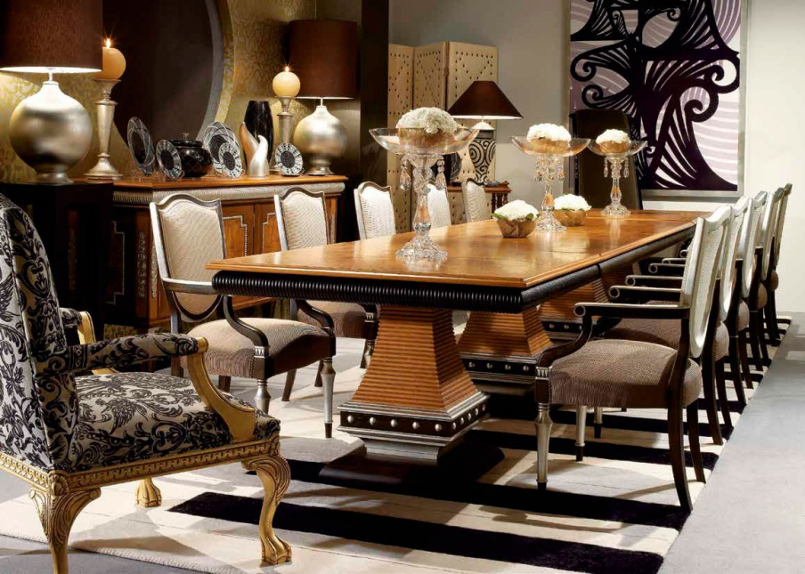 Inspiration about Dining Table Deco, Coleccion Alexandra Inside Current Alexandra Round Marble Pedestal Dining Tables (#19 of 30)