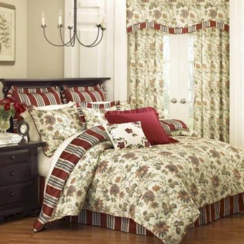 Discontinued Waverly Felicite Home Fashions Intended For Waverly Felicite Curtain Tiers (#3 of 45)